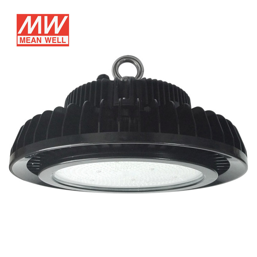Campana industrial UFO HB 240W, ChipLed Samsung con MeanWell driver 1-10V regulable, Blanco frío, Regulable